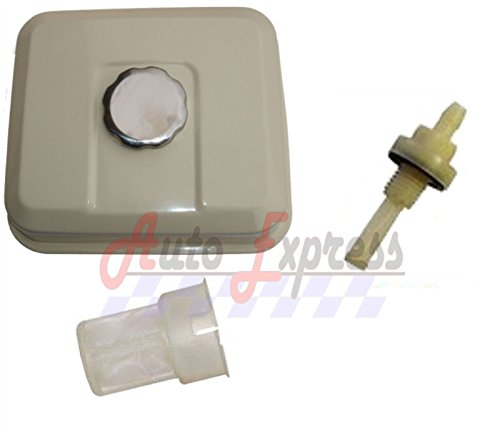 Gas Tractor - NEW Fuel Tank Gas For Honda GX200 for 6.5HP with Petcock Gas Cap Filter White
