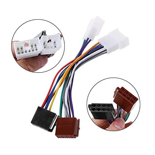 2019 New ISO Car Radio Wiring Harness Adapter Plug Cable For TOYOTA Lexus MR2 Land Cruiser RAV4 Solara Yaris