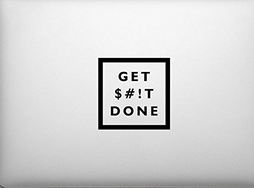 Get Shit Done S#!t Motivational CCI Decal Vinyl Sticker|Cars