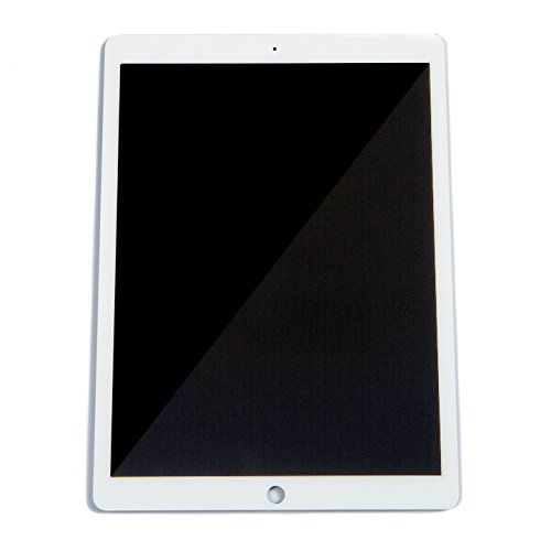 LCD Digitizer Touch Screen Display for iPad Pro (12.9'') (Grade A) - White A1584 / A1652 Replacement Repair Part by Mobile Defenders
