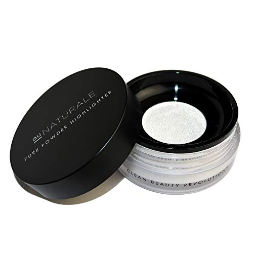 Au Naturale Pure Powder Highlighter in Moondust | Made in the USA | Organic | Vegan | Cruelty-free