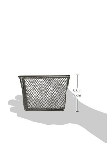 Design Ideas Mesh Storage Nest, Silver, Large