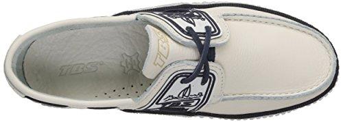 TBS Mens Boat Shoes White (Blanc Encre) 2t3AU