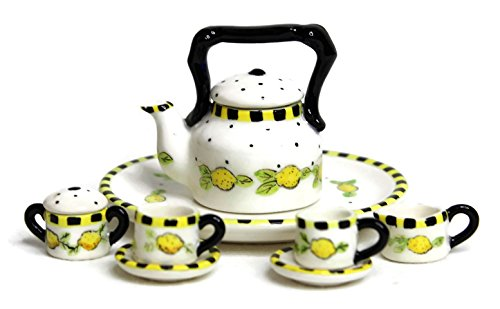Unique Design Dollhouse Miniature Gloss Finish Porcelain