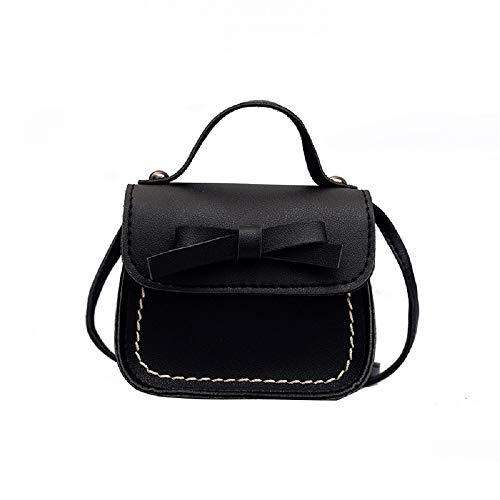 - Orfila Small Crossbody Purse Cute Bowknot Mini Handbag Messenger Shoulder Bag Coin Purse for Kids Toddler Girls,Black