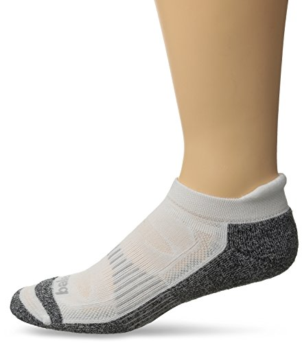 Balega Blister Resist No Show Socks, White, X-Large
