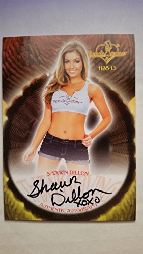 Shawn Dillon 2013 Bench Warmer Thanksgiving Autograph Auto On Card Playboy -
