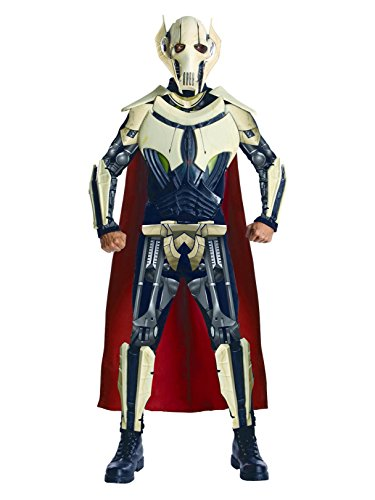 Star Wars Adult Deluxe General Grievous Costume, Multi, X-Large