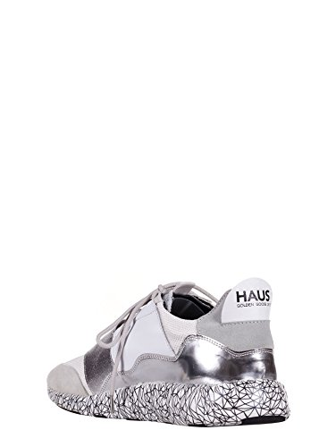 Goose Women's white Trainers Bianco Golden qXRd5wx5