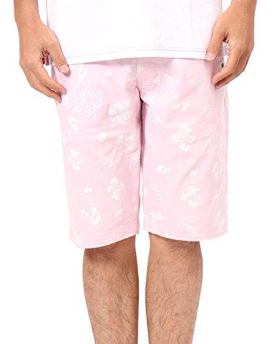 [ガッチャ ゴルフ] GOTCHA GOLF パンツ ドライ リゾート カラー ストレッチ ショーツ 182GG1904 ピンク Mサイズ
