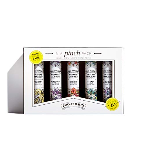 10 Ml Sampler - Poo-Pourri Before-You-Go Toilet Spray, In A Pinch Pack