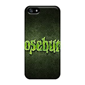 Iphone 5/5s Goosebumps Holidays Tpu Silicone Gel Case Cover. Fits Iphone 5/5s