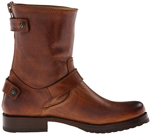 Antique Company Boot Zip Veronica Women's Up Pull FRYE Short Back Cognac d86CTwwpqx
