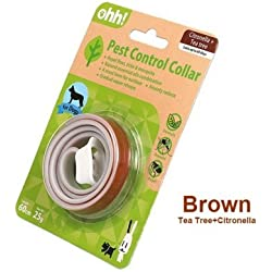 Ohh Natural Pest Control Collar For Dog (Tea Tree+Citronella) (60cm)