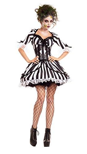 Beetlejuice Womens Costumes (BugJuice Babe Adult Costume - Large)