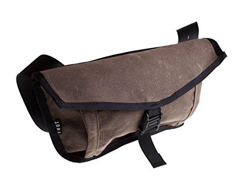 YNOT Borsa messenger oak waxed (Zaini e Borsoni) / Messenger utility bag oak waxed (Backpacks and Bags )