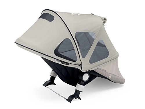 Cameleon Bassinet Fabric - Bugaboo Cameleon Breezy Sun Canopy, Artic Grey