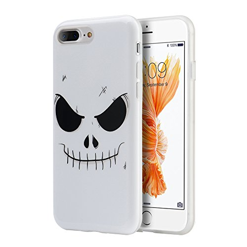 Price comparison product image iPhone 7 Plus Halloween Case,  [Dream Wireless] Halloween Series TPU Phone Case for iPhone 7 Plus - Evil Mind