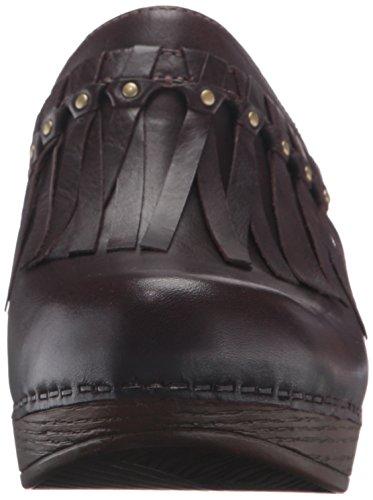Deni Grain Mule Dansko Women's Chocolate Full OXx5RBwqg1