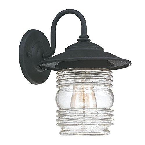 Capital Lighting 9671BK One Wall Lantern