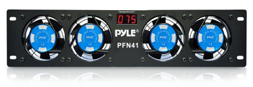 pyle-pro-pfn41-19-rack-mount-cooling-fan-system-w-temperature-display