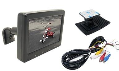 Rostra 250-8118 Universal 4.3-Inch Stem Mount LCD Monitor