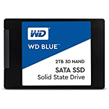 "WD Blue 3D NAND 2TB PC SSD - SATA III 6 Gb/s, 2.5""/7mm - WDS200T2B0A"