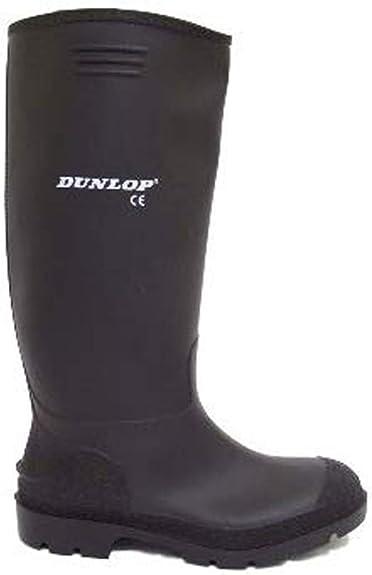 wellies noir en homme Dunlop caoutchouc bottes kuPZOXi