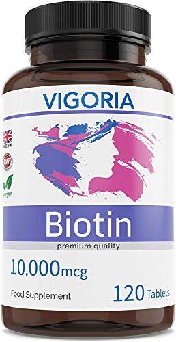 🥇 Biotina – Vitamina B7 para fortalecer y evitar la caída del cabello – Piel