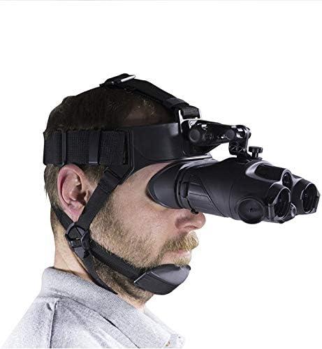 ZUZU Visión Nocturna Digital Casco infrarrojo Binocular Visión ...