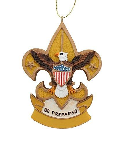 Kurt Adler Boy Scouts of America Fleur De Lis Christmas Ornament ()