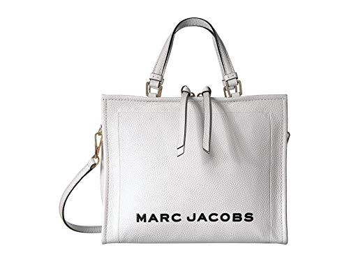 Marc Jacobs Women's The Box Shopper Bag, Moon White, One Size