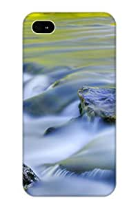 Storydnrmue Anti-scratch And Shatterproof Argen River Phone Case For Iphone 4/4s/ High Quality Tpu Case