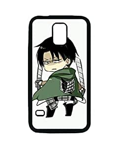 Attack On Titan Levi Rivaille Chibi Custom Diy Unique Image Durable Rubber Silicone Case for Samsung Galaxy S5 I9600
