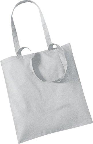 Westford Mill Shopper Handtasche Aufbewahrung Reisetasche Promo Schulter Tasche One Size Grau - Hellgrau