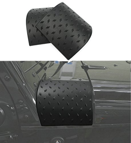 Bentolin Latest Durable Black Cowl Body Armor - Pair For Jeep Wrangler Rubicon Sahara Jk & Unlimited 2007-2018 (Latest Upgrade Version) (Corner Wrangler Jeep)