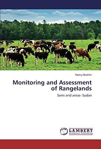 Monitoring and Assessment of Rangelands: Semi arid areas- Sudan pdf epub