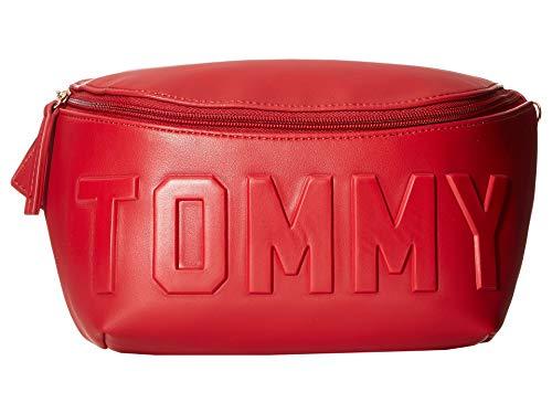 Tommy Hilfiger Women's Chiara PVC Body Bag Tommy Red One Size