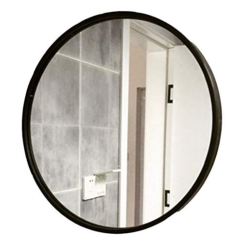 Teng Peng Espejo de la casa - Espejo de Pared de Espejo montado en la Pared Estilo Europeo Baño de Hierro Estilo Retro, 3...