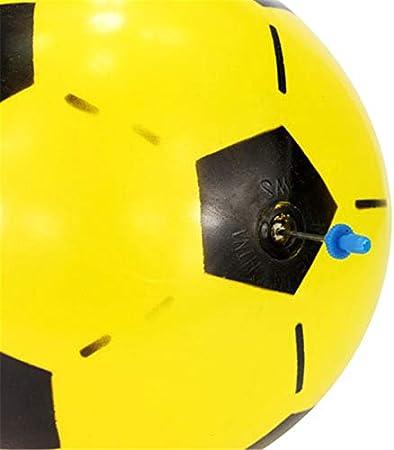 Couleur al/éatoire Jouets gonflables de Ballon de Football pour des Enfants,Football de Football de Jouet en Plastique pour des Enfants en Bas /âge,Ballon de Football de Jouet Gonflable pour la Plage