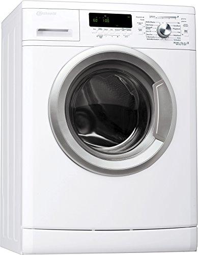 Bauknecht WA Slim 714 BW Waschmaschine FL / A+++ / 174 kWh/Jahr / 1400 UpM / 7 kg / 8800 L/Jahr / schmal /EcoMonitor / weiß