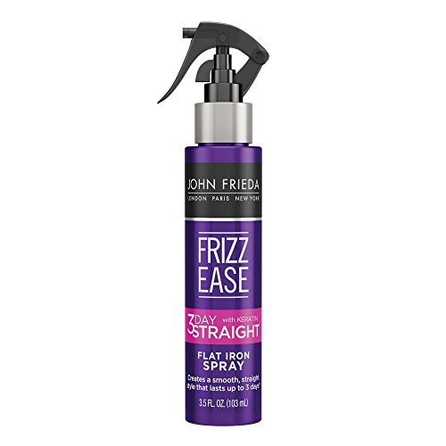 John Frieda Frizz Ease 3-Day Straight Flat Iron Spray, 3.5 Ounces (Straight Flat Iron Spray)