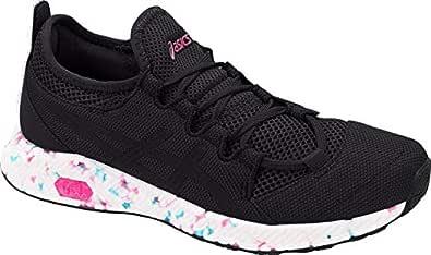ASICS 1022A013 Men's Hypergel-Sai Running Shoe, Black/Pink Glow - 6 D(M) US