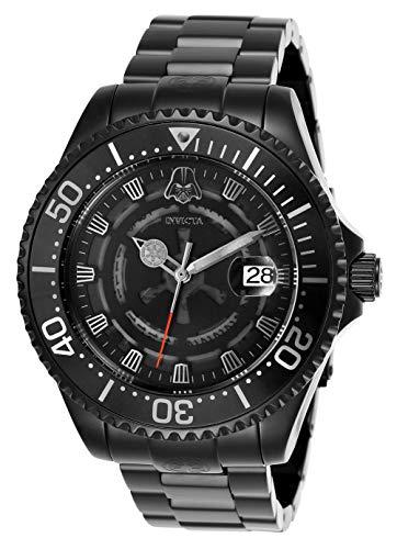 d Edition Star Wars Darth Vader Black Dial/Case Men's Watch ()