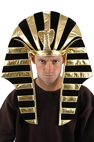 King Tut Costume Headdress for Adults and men by -