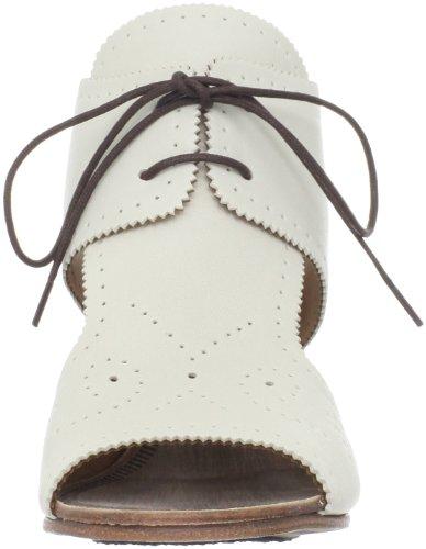 Argila Womens A824 Sandalo Con Zeppa Avorio