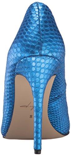 Daya By Zendaya Dames Atmore Dress Pump Metallic / Blue