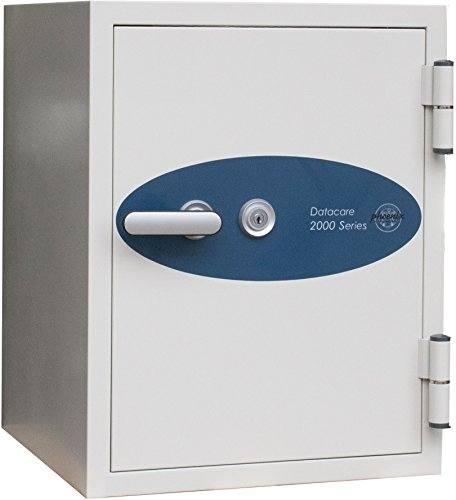 Impact Media Safes - Phoenix Datacare 2-Hour Key Lock Fireproof Media Safe - 0.58 cu ft