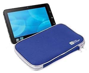 DURAGADGET-Funda protectora para tablet Toshiba azul tipo libro 100-Funda/bolsa
