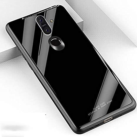 online store b82e7 e991a Huawei Honor Play Glass Back Case Cover, Vodex Original: Amazon.in ...
